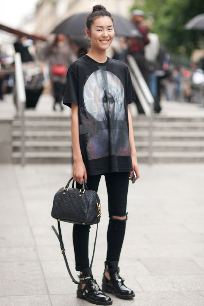 Liu Wen Viktor Rolf Haute Couture 3 Melodie Jeng Street Style 0018 Bisous Magazine
