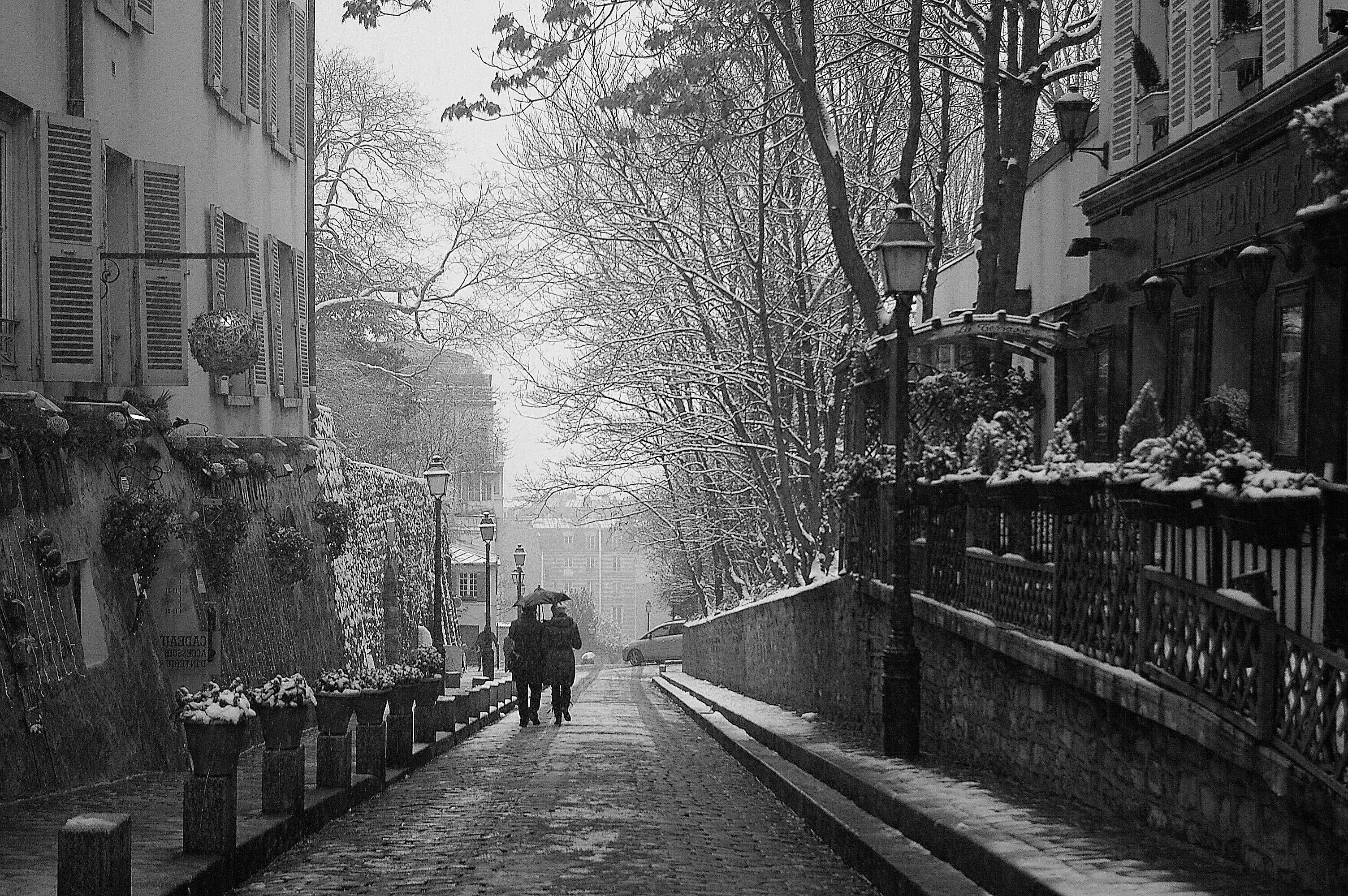 Couple-on-Street-in-Montmartre-1