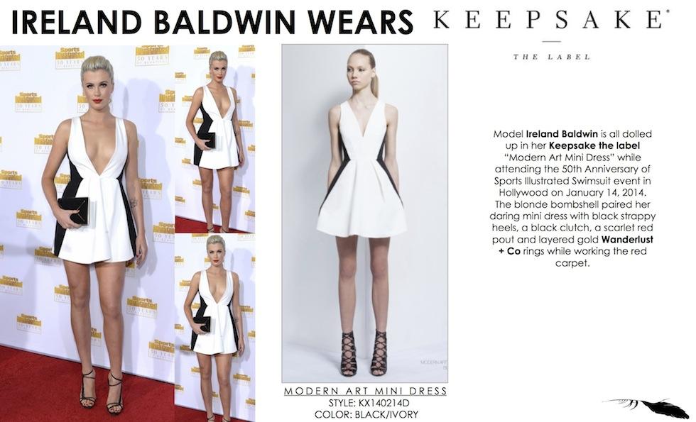 Keepsake Modern Art Dress