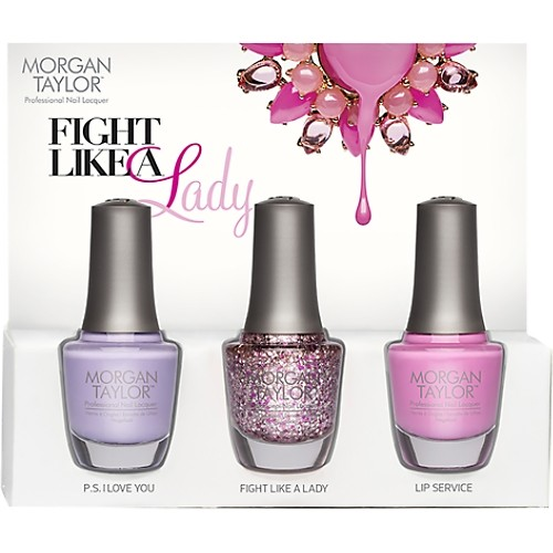 MorganTaylor_Fight Like A Lady_Nail Lacquer Trio www.loxabeauty.com $19.90