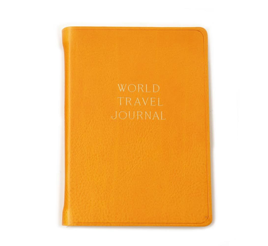 Hayden Leather_World Travel Journal