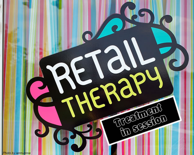Retail Therapy! Give back and Feel better!