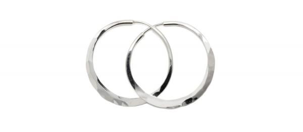 hammered-sterling-silver-hoop-earrings-1