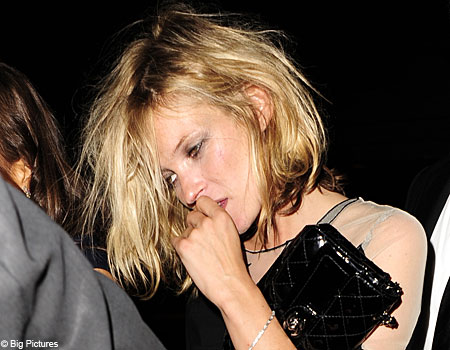 I love a drunk KATE MOSS