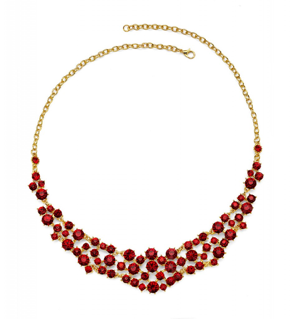 Red My Lips Necklace