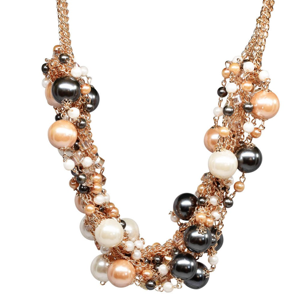 web of pearls necklace
