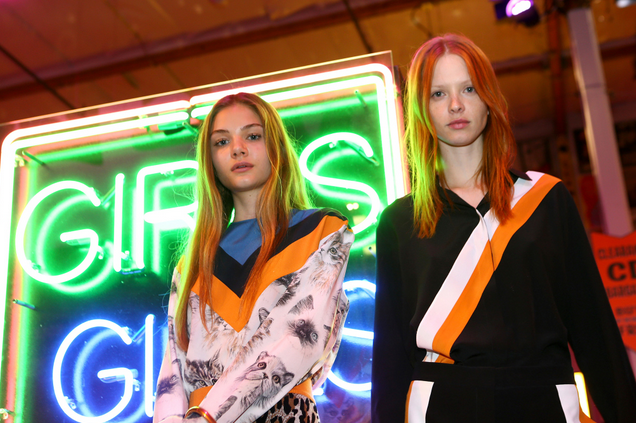 STAR FEST Gathers for Stella McCartney's autumn presentation