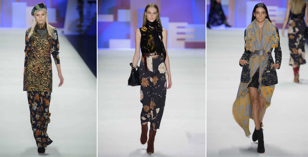 Patterns on patterns on patterns OH MY! Desigual NYFW