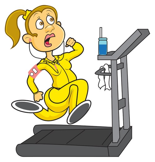 treadmill-cartoon-Live Young Lifestyle
