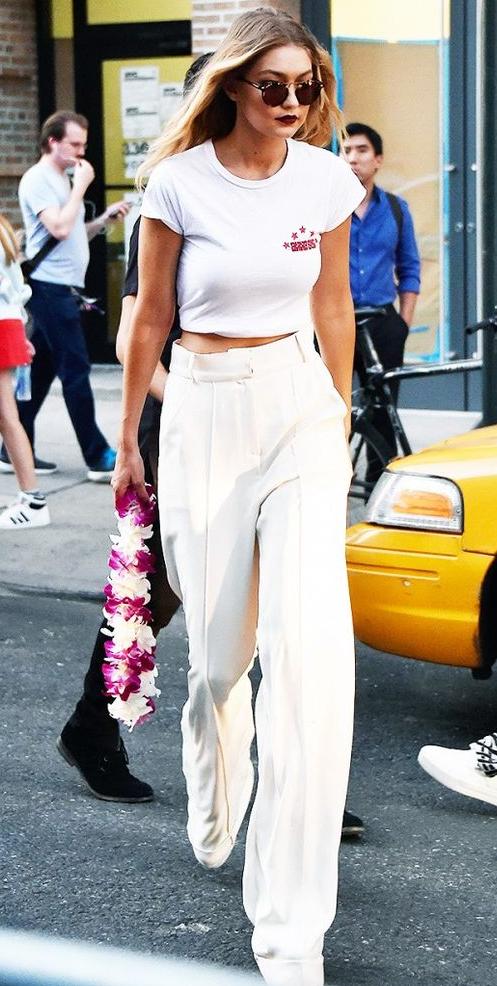 Gigi Hadid NYC