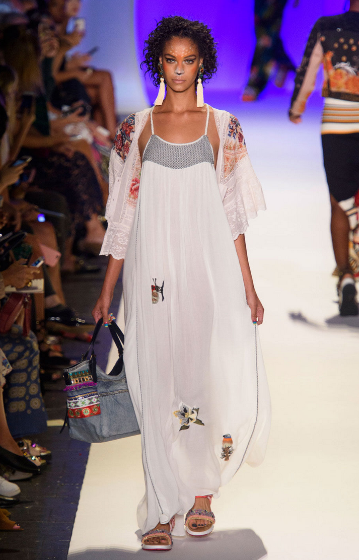 DESIGUAL always fun on the runway!