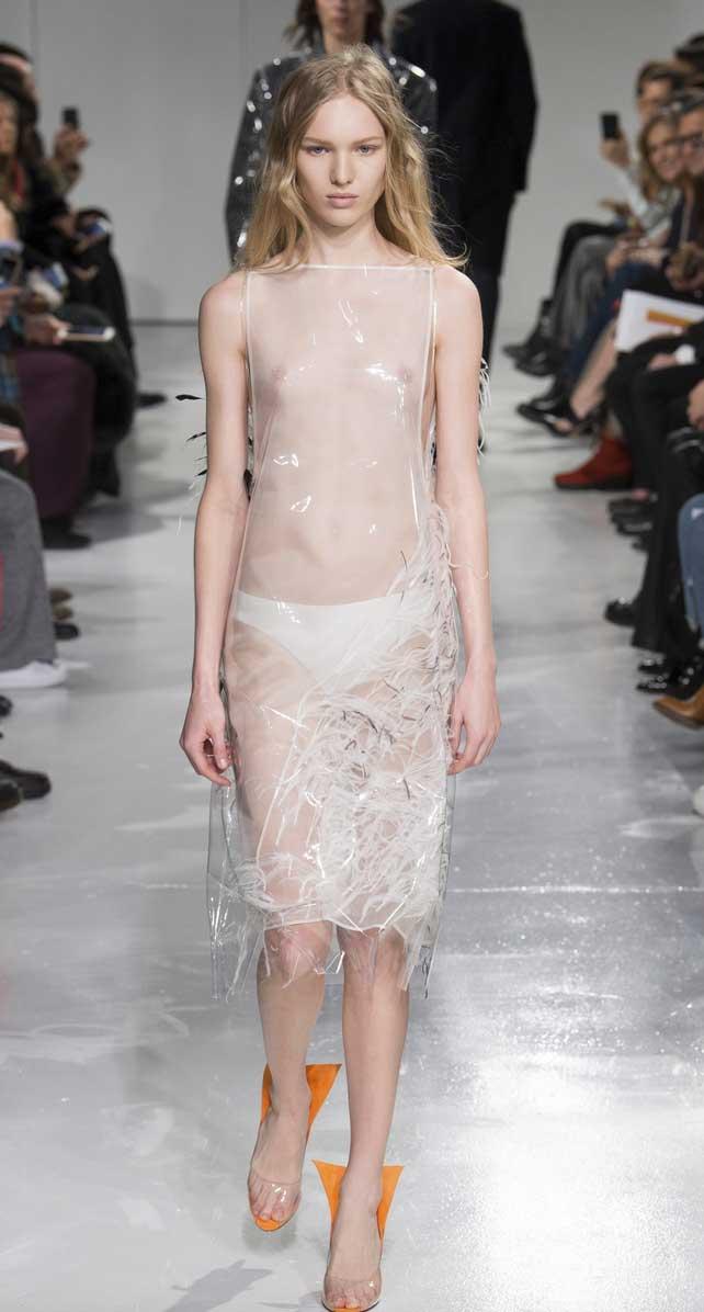 Raf Simons debuts Calvin Klein. Yay or Nay?