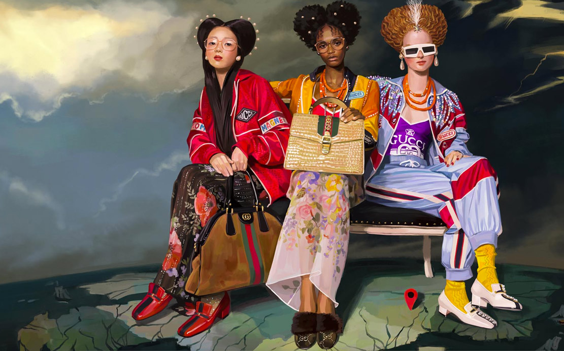 Gucci Goodness: A Utopian World